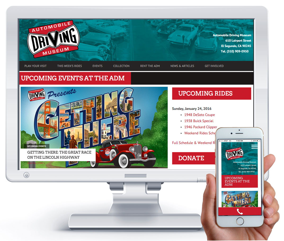 ADM Website Design