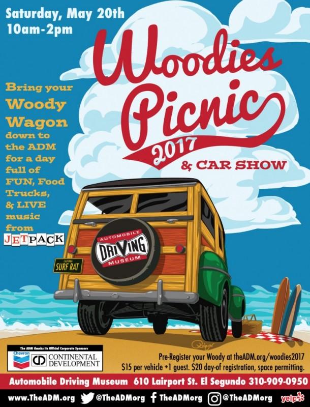 Woodies Picnic at the ADM